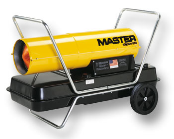 Master Forced Air Kerosene Construction Salamander